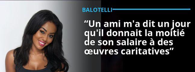 La phrase prononcée par l'ex-petite amie de Mario Balotelli