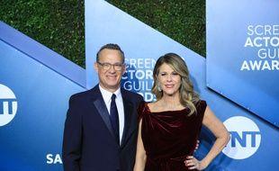 L'acteur Tom Hanks et son épouse, la comédienne Rita Wilson