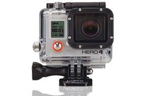 La GoPro Hero 4 Black filme en 4K à 30 images par seconde.
