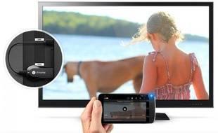 La clé HDMI de Google, Chromecast.