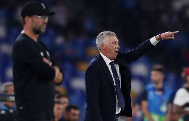 Ligue des champions: Naples tape Liverpool, mais ça n'émeut pas Ancelotti