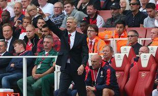 Arsène Wenger lors du succès d'Arsenal sur Manchester United (3-0), le 4 octobre 2015.