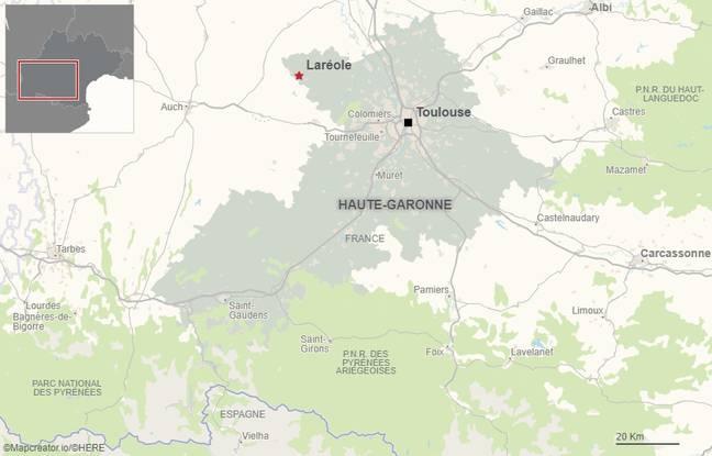 La commune de Laréole se situe à une quarantaine de kilomètres de Toulouse.