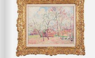 Premier jour de printemps à Moret, (1889) d'Alfred Sysley.