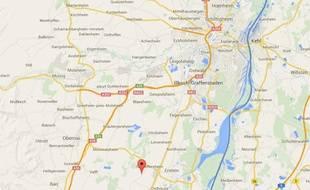 google map Bolsenheim (Alsace)