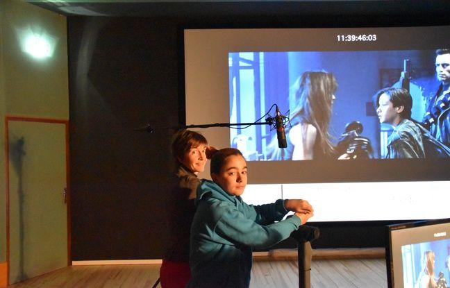 Aziliz Bourges et Giovanni Siara, les voix bretonnes respectives de Sarah Connor et John Connor.