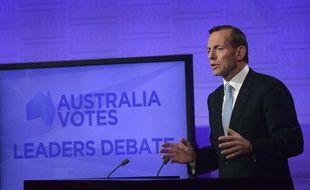 L'homme politique australien Tony Abbott.