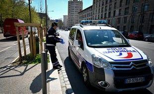 Une voiture de police à Marseille. (illustration)
