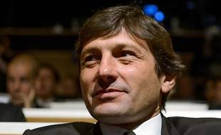 Leonardo lors du tirage au sort des 8es de finale de la Ligue des champions, le 20 décembre 2012, à Nyon.