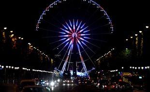 La Grande Roue de Marcel Campion à Paris. (Illustration)