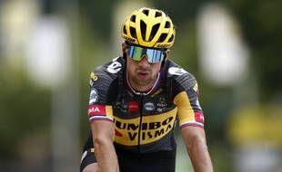 Roglic a dû se résoudre à lâcher l'affaire sur le Tour de France 2021.