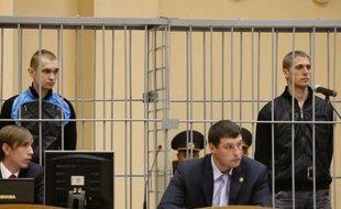 Les deux accusés de l'attentat dans le métro de Minsk ayant fait 15 morts en avril ont été condamnés mercredi à la peine de mort par la Cour suprême du Bélarus, seul pays du continent européen à procéder encore à des exécutions.