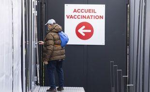 Illustration. Un centre de vaccination en France.