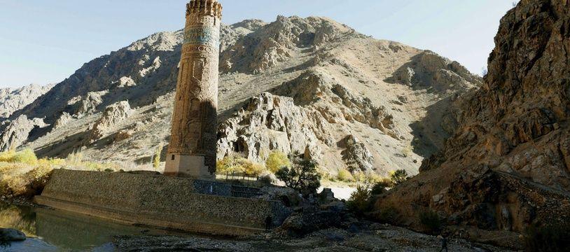 Le minaret de Jam, en Afghanistan (illustration).