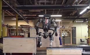 Si même les robots se mettent au parkour, maintenant...