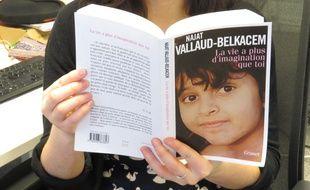 La couverture de l'autobiographie de Najat Vallaud-Belkacem.