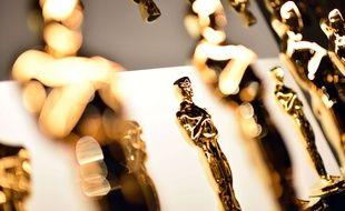 Les statuettes des Oscars.