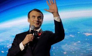 Emmanuel Macron à Paris le 11 décembre 2017.