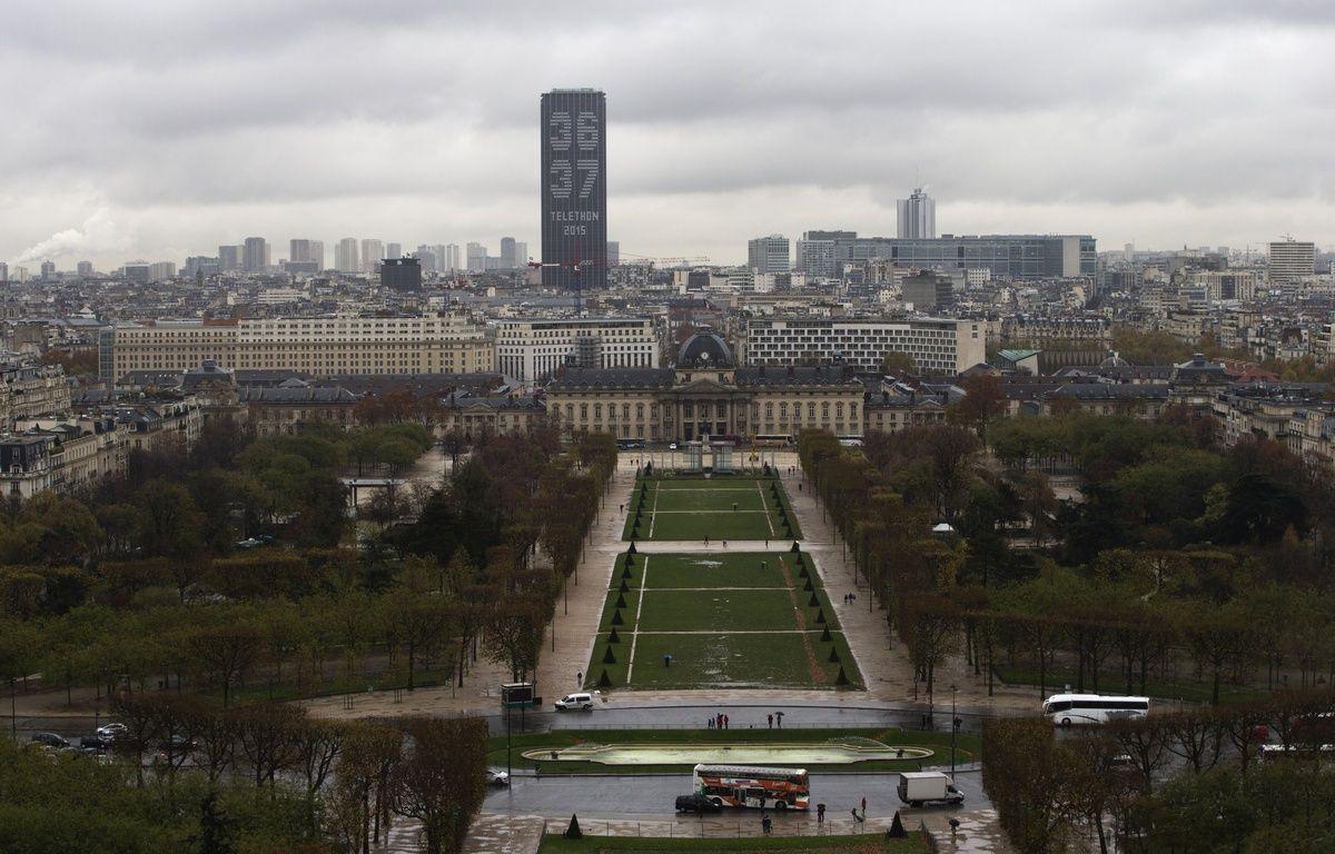 A Paris, l'Euro 2016 aura sa fan zone au Champ-de-Mars. – AFP PHOTO / JOEL SAGET
