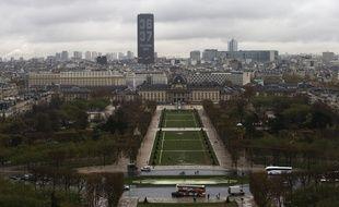 A Paris, l'Euro 2016 aura sa fan zone au Champ-de-Mars.