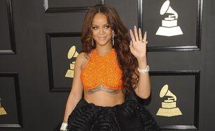 Rihanna aux Grammy Awards