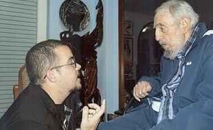 Une photo de Fidel Castro publiée dans la presse cubaine le 3 janvier 2015
