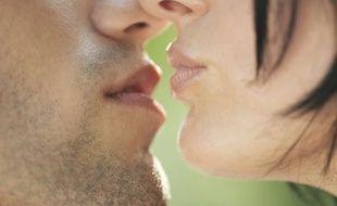 Illustration de baiser.