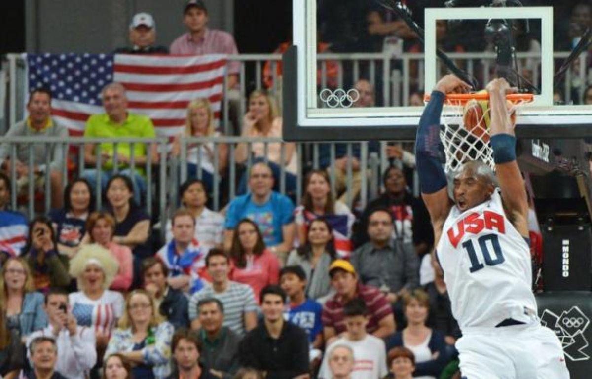 Les basketteurs américains ont battu plusieurs records lors d'une orgie offensive jeudi aux Jeux de Londres dont celui du nombre de points marqués dans un match: 156 à 73 face au Nigeria. – Mark Ralston afp.com