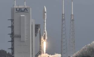 Une fusée Atlas V a décollé de Cap Canaveral avec le drone spatial de l'armée américaine, le 17 mai 2020.