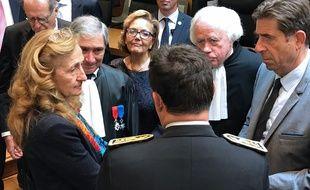 La ministre de la Justice Nicole Belloubet, le 25 septembre 2017 à Nice