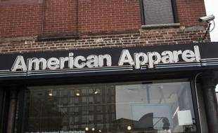 Un magasin de la marque American Apparel à New York