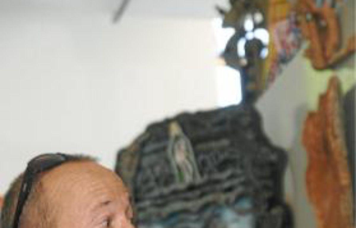 Patrick Michel, au nom du père et de l'art brut. –  c. castieau/2OMINUTES