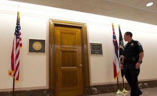 Le bureau du sénateur américain  Roger Wicker, à qui une lettre piégée contenant de la ricine a été envoyée le 16 avril 2013.