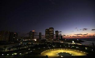 Vue de Tripoli, la capitale de la Libye.