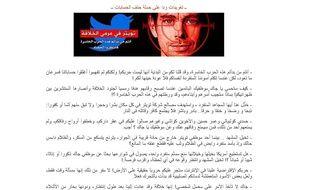 Le post de l'Etat islamique appelant au meurtre du fondateur de Twitter