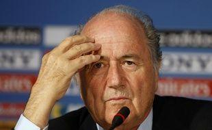 Sepp Blatter, préoccupé.
