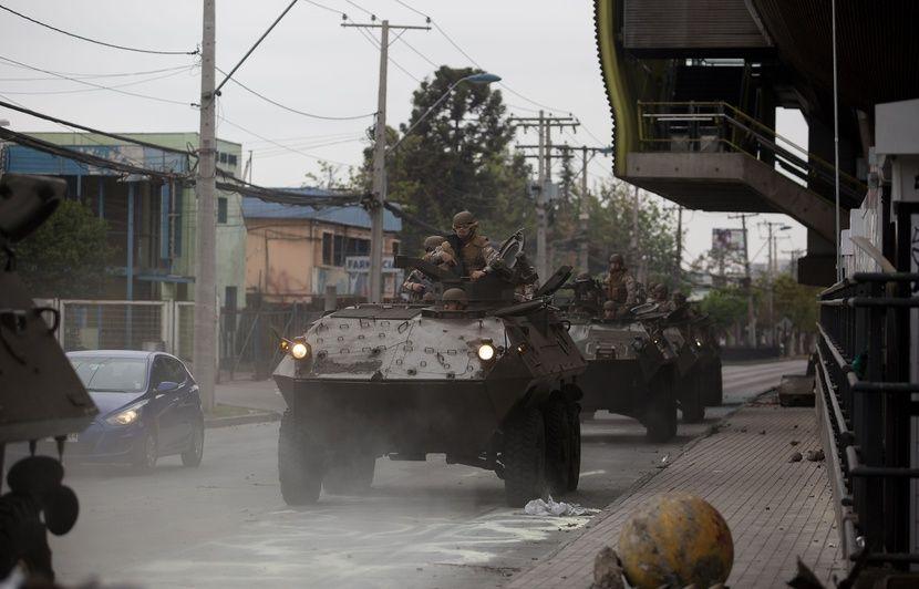 Chili : Le couvre-feu décrété à Santiago pour la troisième nuit consécutive