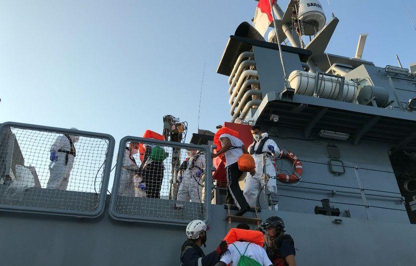 Italie : Le gouvernement autorise le débarquement de 182 migrants secourus en Méditerranée