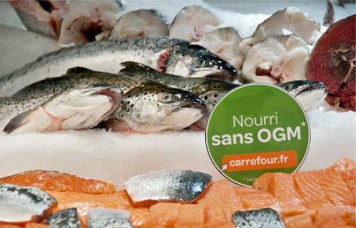 Le logo sera apposé sur les viandes, les œufs et les poissons de la marque Carrefour. –  CARREFOUR