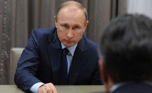 Vladimir Poutine à Moscou le 28 octobre 2015.