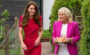 Jill Biden et Kate, Duchesse de Cambridge se sont rencontré avant la tenu du G7 en Cornouilles.