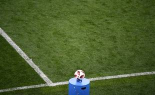 Photo d'illustration d'un match de football.