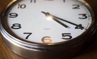 Une horloge (illustration).