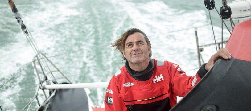 Yannick Bestaven, vainqueur du Vendée Globe 2020.