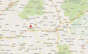 Googlemap de Périgueux
