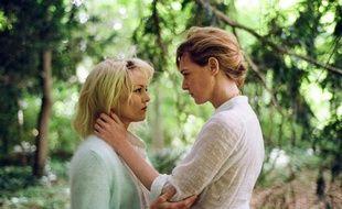 Vanessa Paradis et Kate Moran dans Un couteau dans le cœur de Yann Gonzalez