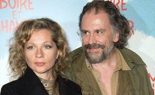 Eva Ionesco et son mari Simon Liberati en mars 2014