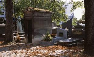 Le cimetière du Père Lachaise, à Paris.