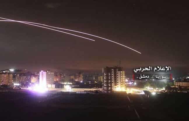 Syrie: La défense anti-aérienne a intercepté des projectiles en provenance d'Israël