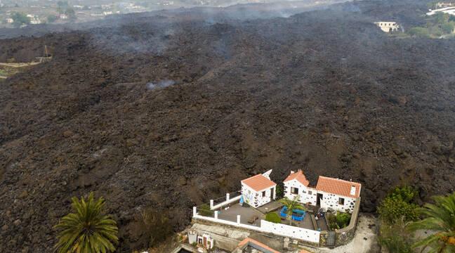 320 bâtiments détruits par l'éruption volcanique, d'après un nouveau bilan